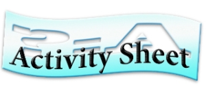 Activity Sheet logo cut